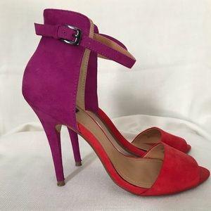 Zara Collection Color Block sandal